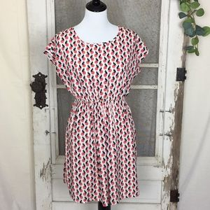 4/$25 Funky People Polka Dots and Cats dress Small